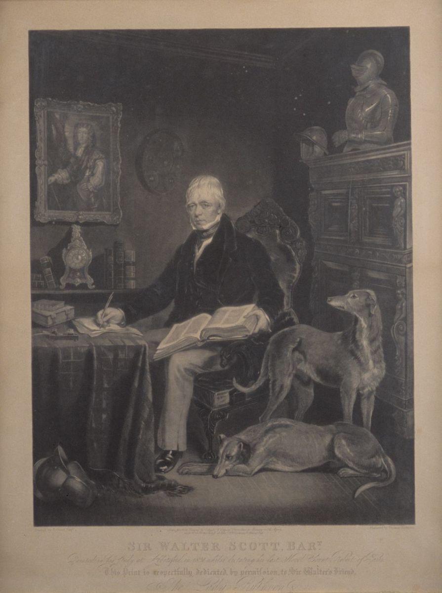 Walter Scott engraving