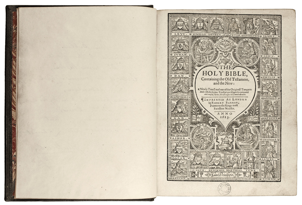 The Holy Bible, containing the Old Testament, and the New: newly translated out of the originall tongues: and with the former translations diligently compared and revised, by His Majesties speciall commandement.<br /><br />