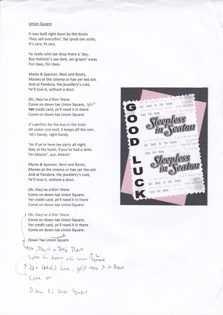 Sleepless in Seaton lyrics