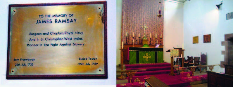 James Ramsay memorial
