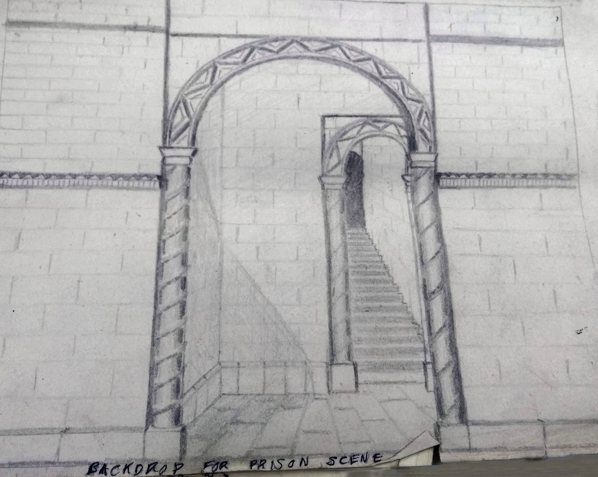 To Meet the MacGregors backdrop sketch