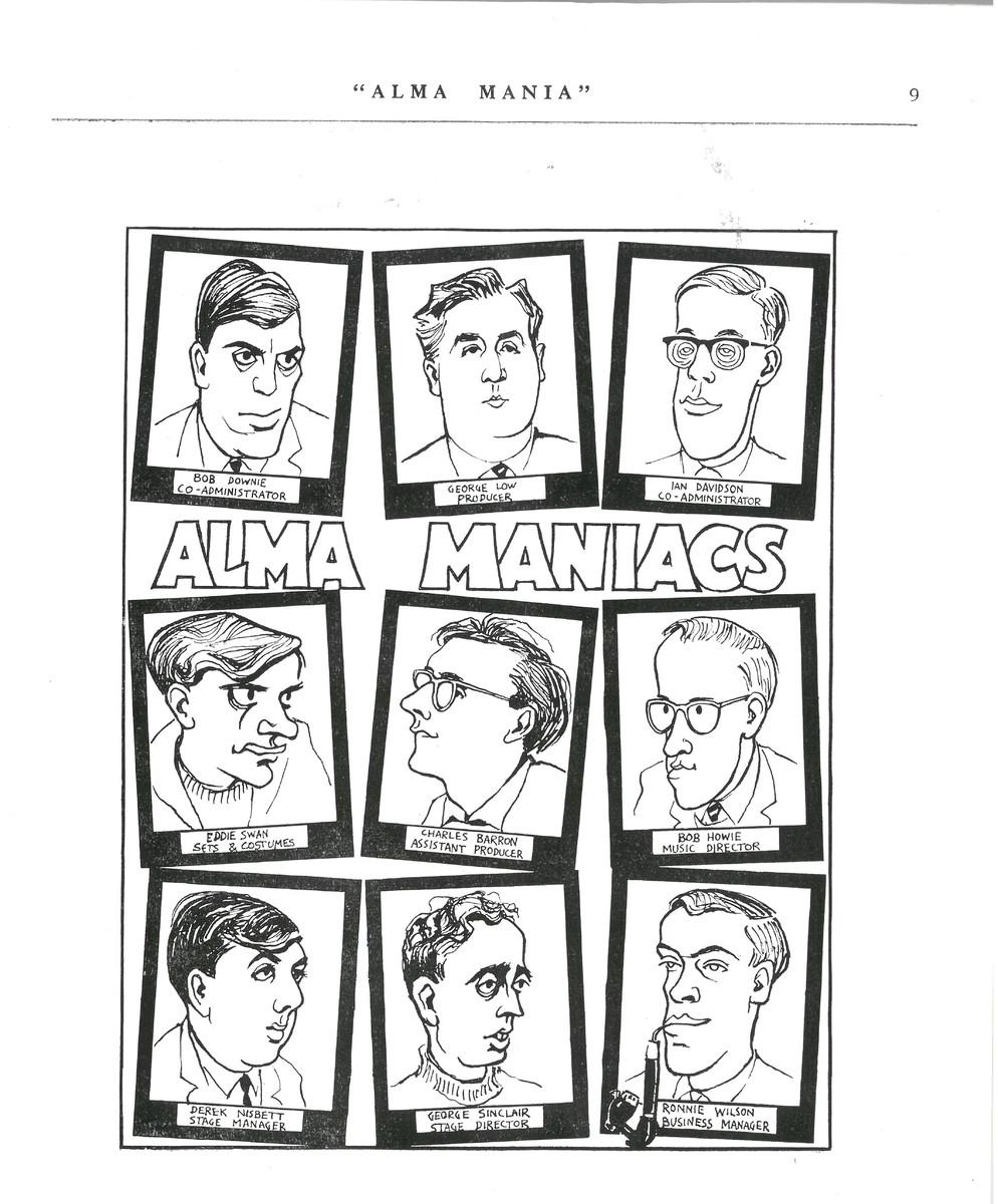 'Alma Mania' programme
