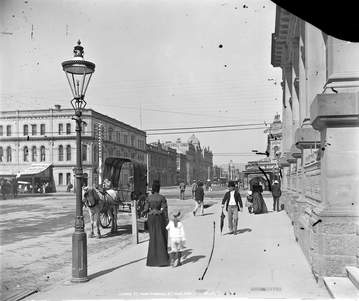 Currie Street from Grenfell Street, Adelaide