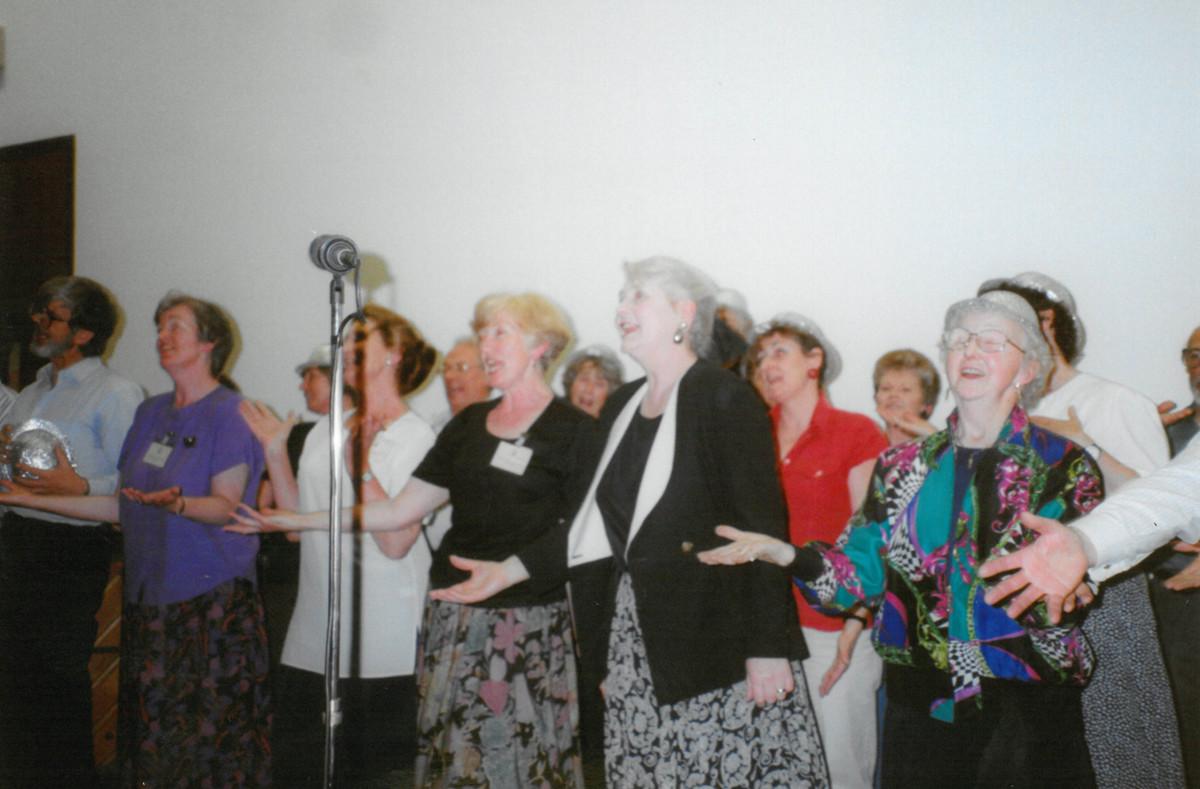 Spirit of Show reunion rehearsal photos
