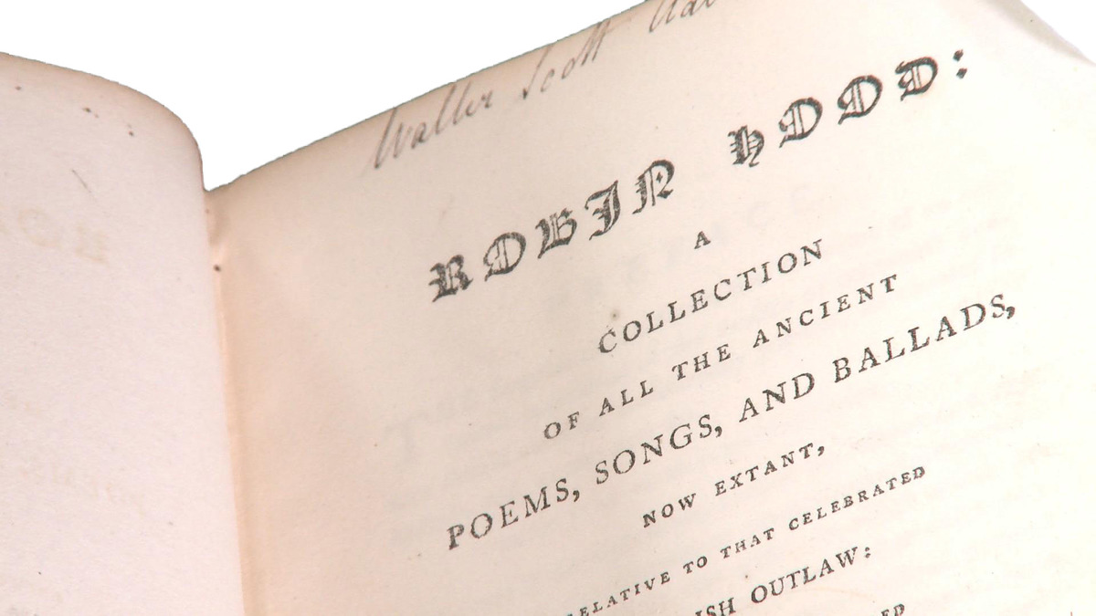 Robin Hood: A Collection of all the Ancient Poems, Songs and Ballads
