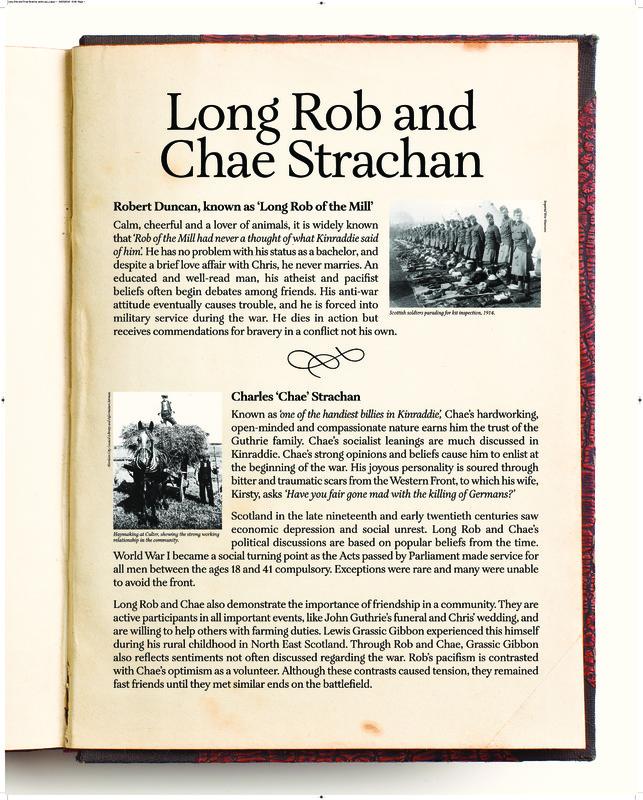Rob and Chae - Interpretive panel