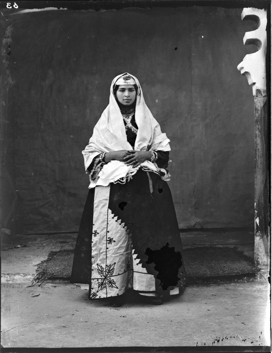 Jewess of Tangier in Outdoor Costume