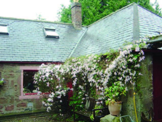 James Beattie cottage Laurencekirk