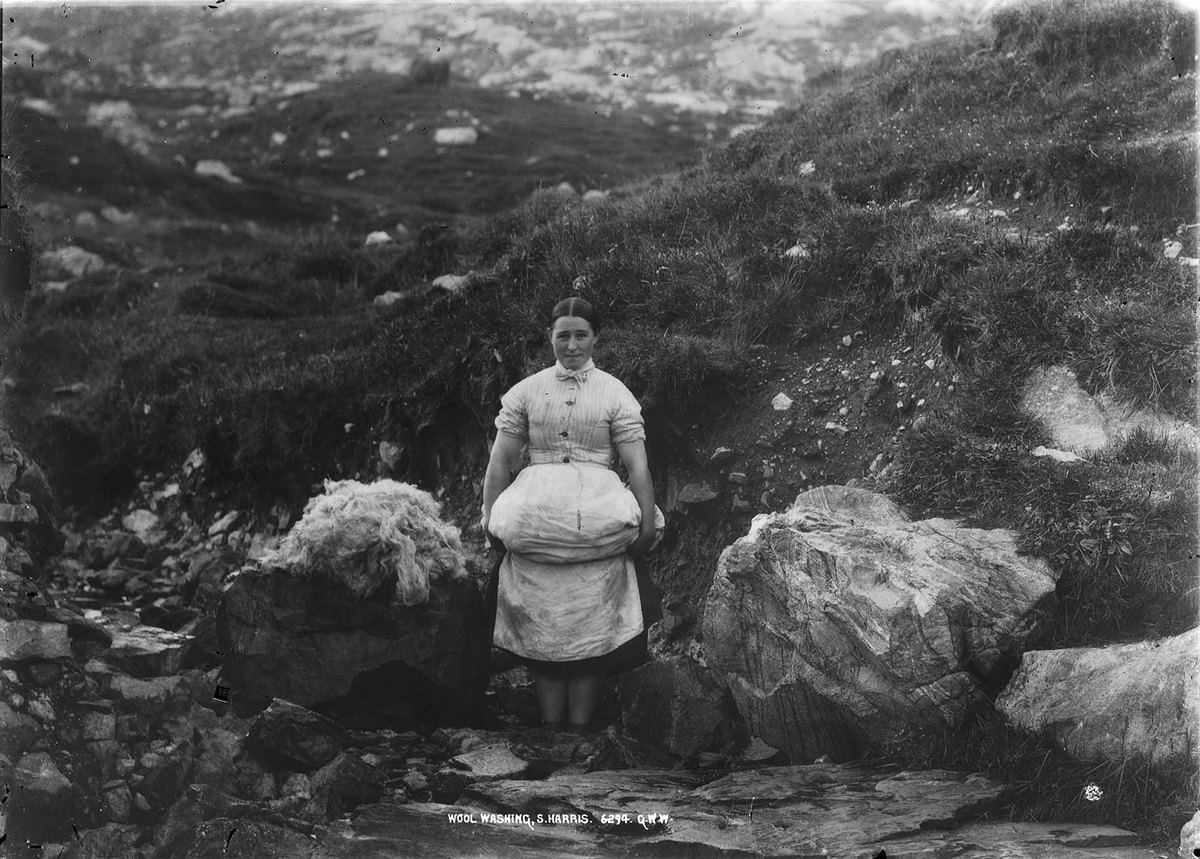 Wool Washing South Harris GB 0231 MS 3792 C04241.jpg