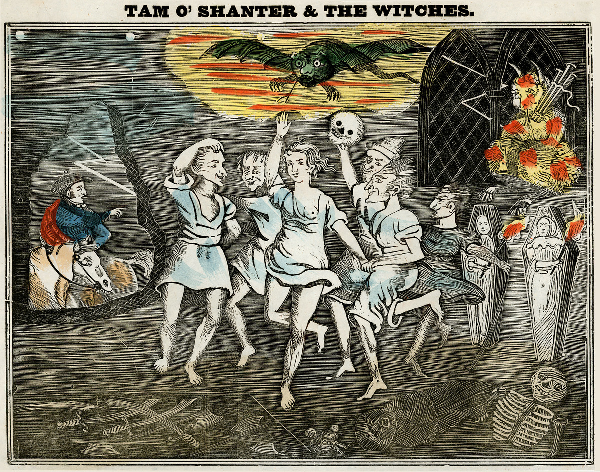 Tam o' Shanter and the witches
