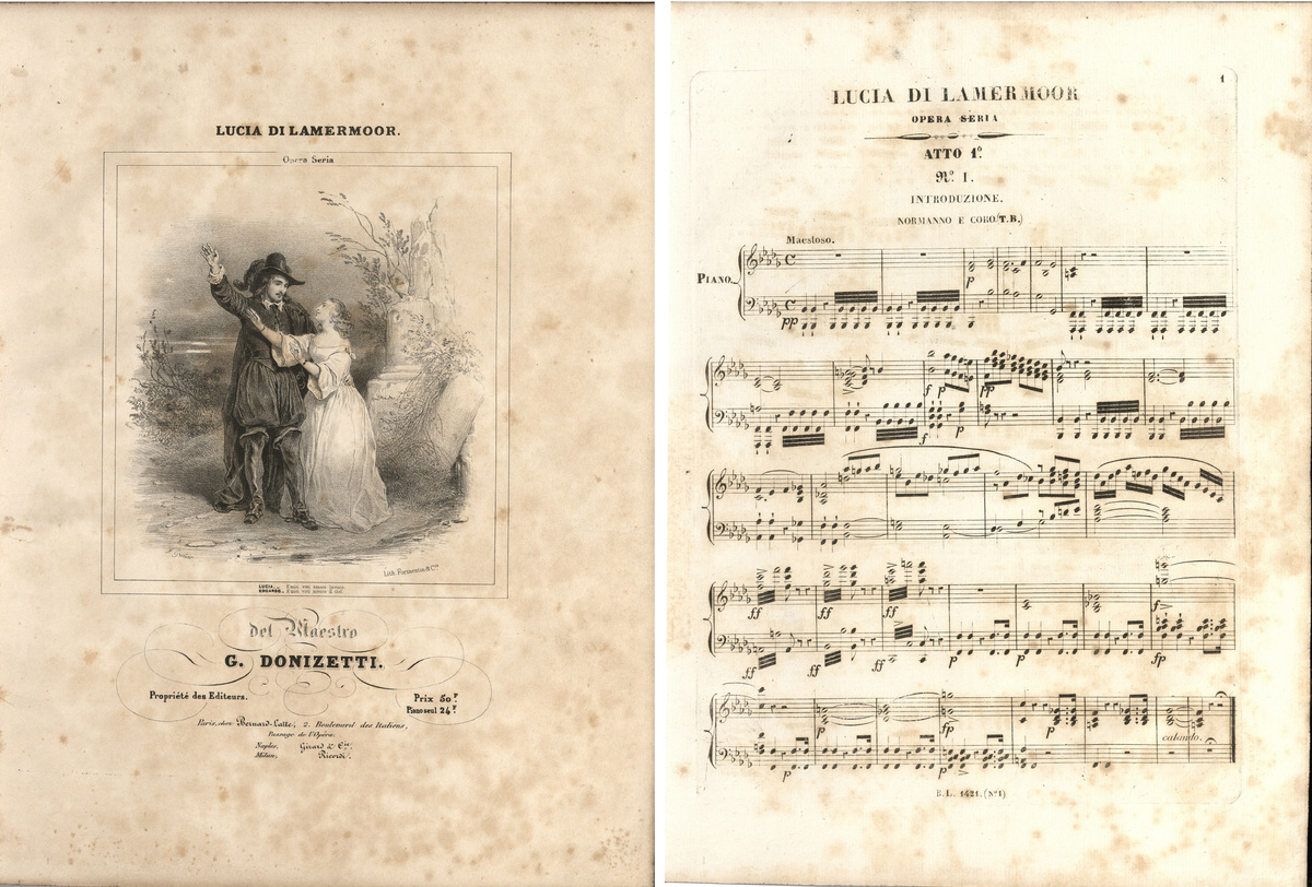 Lucia di Lammermoor opera seria