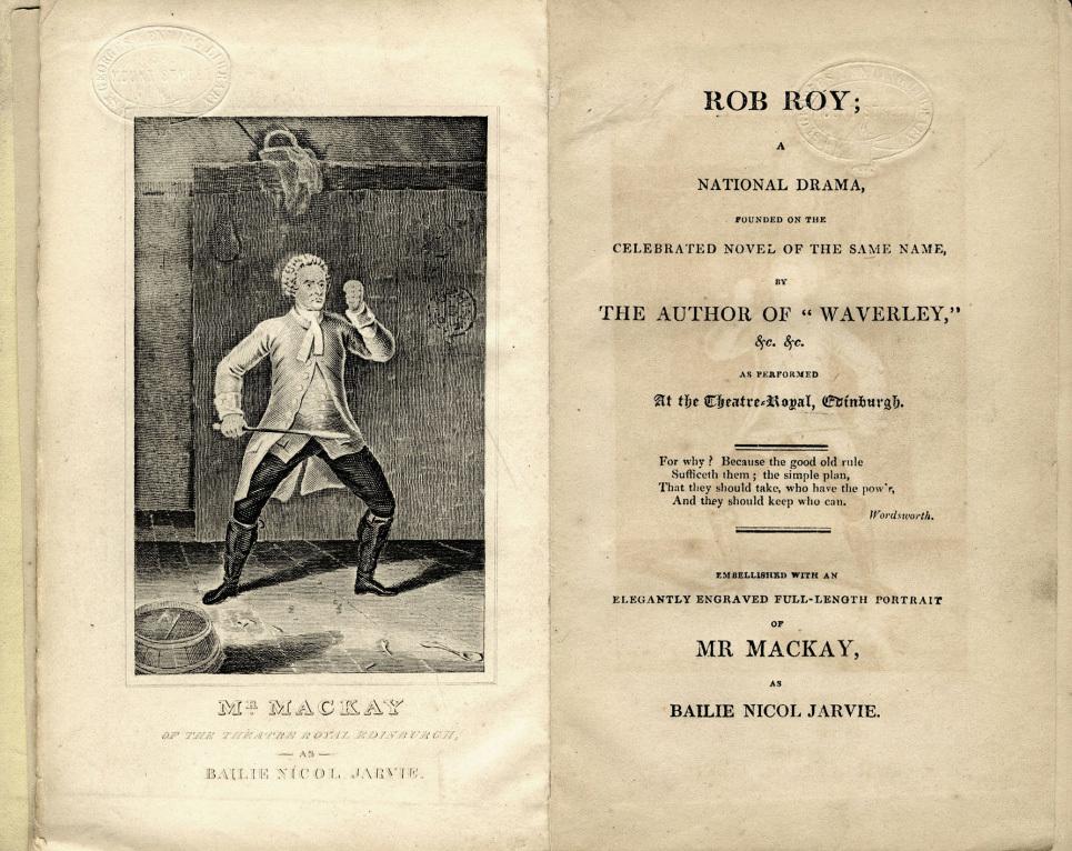 Rob Roy: A National Drama