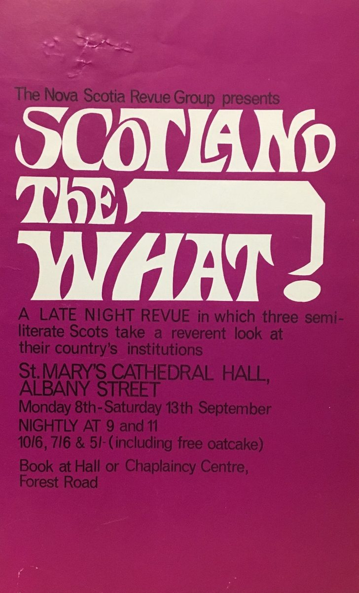 Scotland the What flyer