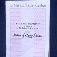 Theatre Programme Document