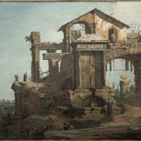 'Ruinous Building, Rome'