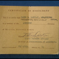 Enrolment Certificate