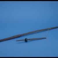 Spindle Whorl Spindle Distaff