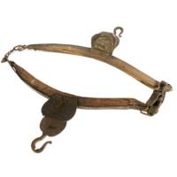 Haims collar, harness